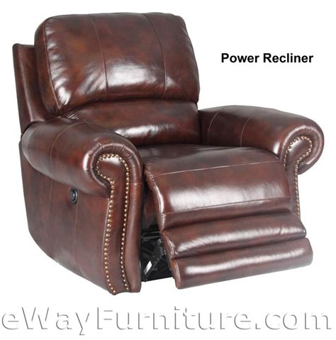living thor leather power dual recliner sofa