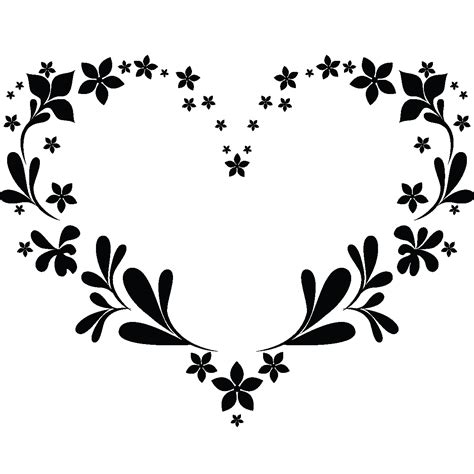 feuille cuisine stickers muraux design sticker mural coeur en contour de feuilles ambiance sticker com