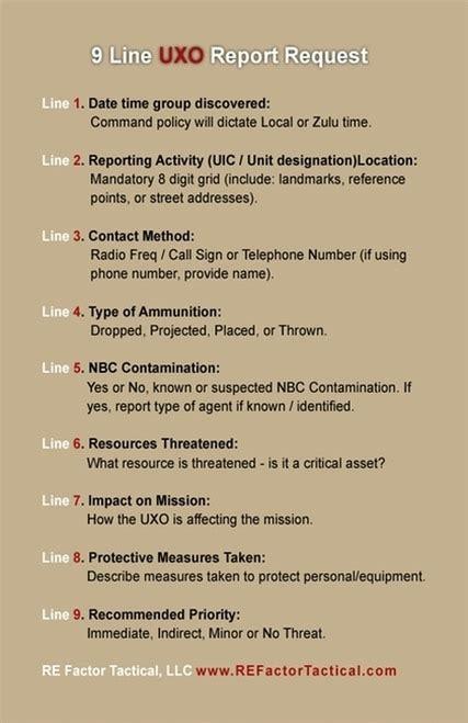 medevac combat reference guide sticker oc tactical