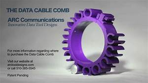 Data Cable Comb By Arc Communications