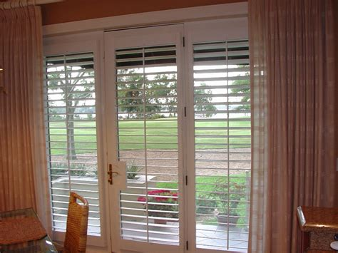 Curtains On Windows With Plantation Shutters Fashion