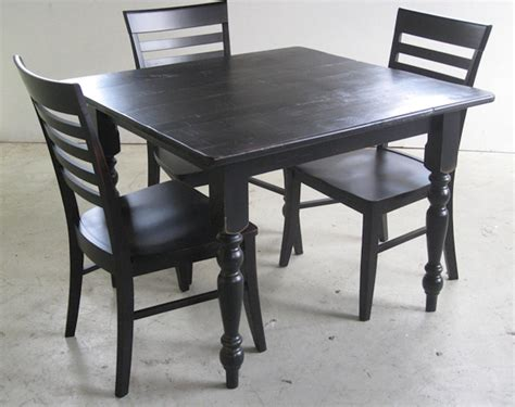 black square kitchen table rustic square black game table lake and mountain home