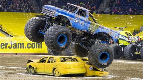 how long does a monster truck show last monster jam driver moves from crew to behind the wheel