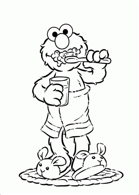 elmo coloring pages  printable coloring page
