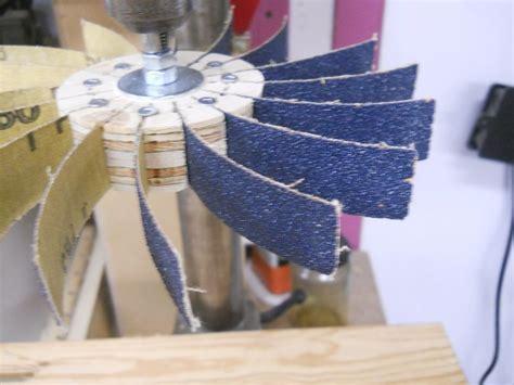 making flap sanders  easy  realiser des roues