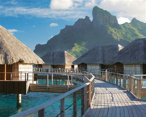 Tropical Honeymoon Paradise Four Seasons Bora Bora