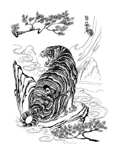 Jack Mosher - Tattoo Flash Set (100 татуировок) | Tiger tattoo design, Japanese tiger tattoo