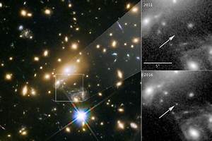 Most distant star ever detected sits halfway across the ...