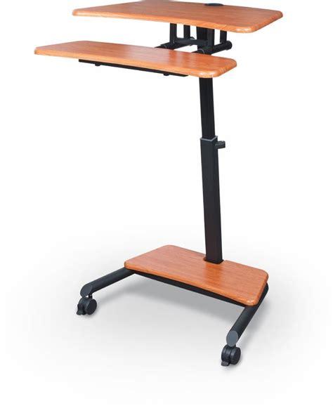 Up Rite Workstation Height Adjustable Sit Stand Desk