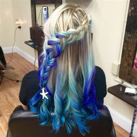Blond Hair Blue by Hair In The Light Category