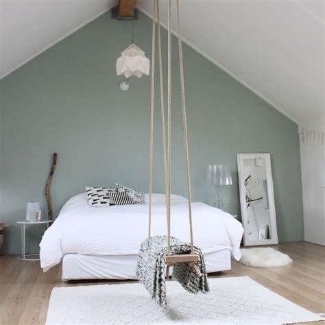 peinture chambre vert et gris tendance couleur le vert de gris mademoiselle claudine