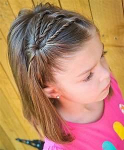 Coupe De Cheveux Fillette : coiffure petite fille 90 id es pour votre petite princesse ~ Melissatoandfro.com Idées de Décoration