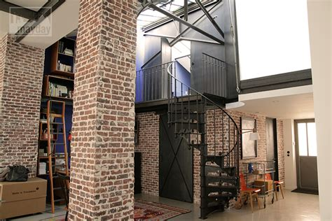 cour de cuisine lyon loft with interior patio clav0024 agence mayday