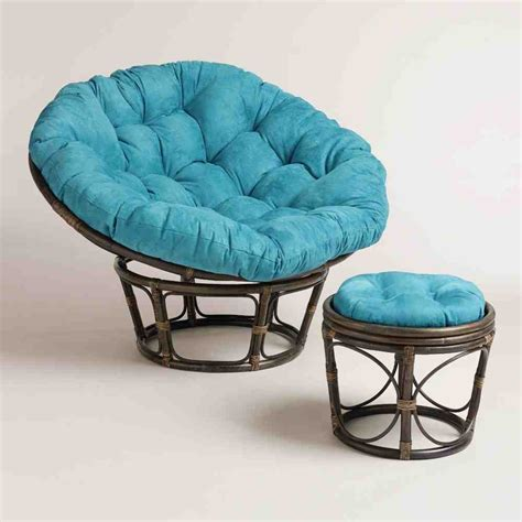 papasan chair with microsuede cushion papasan stool cushion home furniture design