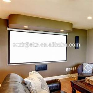 Ceiling Hanging Overhead Projector Screen   Manual