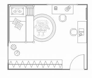 Kids bedroom layout free kids bedroom layout templates for Bedroom design template