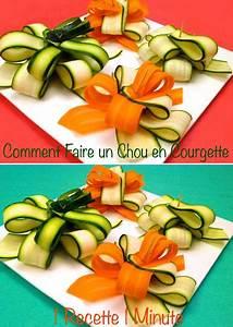 Decoration Legumes Facile : comment faire un chou d 39 emballage cadeau en courgette how to make a gift bow with a zucchini ~ Melissatoandfro.com Idées de Décoration