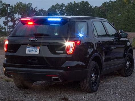 ford police vehicles    sneakier