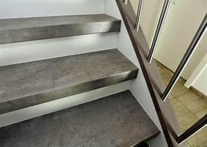 Treppenstufen Mit Laminat Verkleiden : laminat treppenstufen in individueller beton stone optik ~ Sanjose-hotels-ca.com Haus und Dekorationen