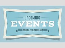 Upcoming Events GLP Events