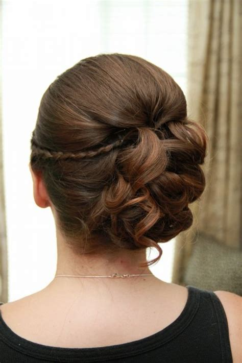 Flower Updo Hairstyles by 17 Best Images About Flower Hair And Makeup On
