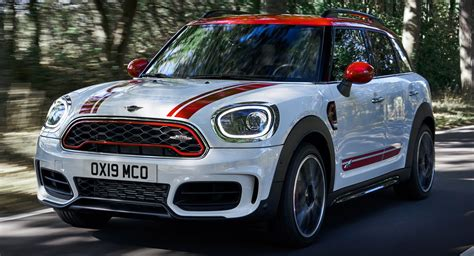 2020 mini cooper jcw 2020 jcw clubman and countryman become most powerful minis