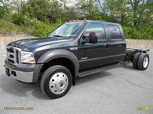 2005 Ford F450 Super Duty Lariat Crew Cab 4x4 Chassis In