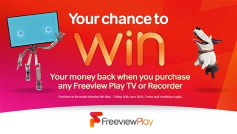 Set yourself free with Freeview Play and enter to WIN YOUR ...