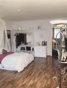 Kleines Wohn Schlafzimmer Einrichten : die besten 17 ideen zu wg zimmer auf pinterest ~ Michelbontemps.com Haus und Dekorationen