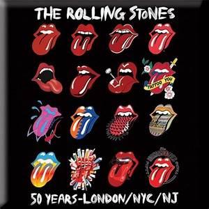 Rolling Stones Tongue Evolution Magnet