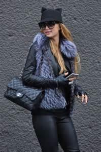 Paris Hilton In Leather 07 GotCeleb