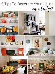 5 tips to decorate your house on a budget With how to decorate a house on a budget