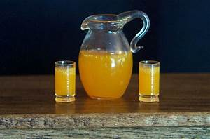 Orange Juice Glasses