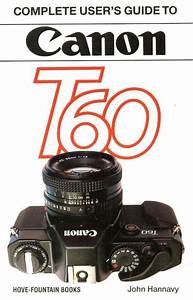 Canon T60 35mm Slr Camera Users Guide Manual