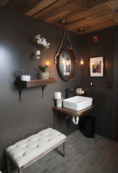 rustic bathroom design design de salle de bain idee