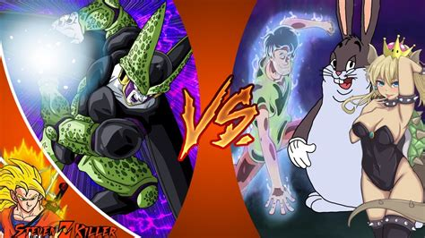 Perfect Cell Vs Mastered Ultra Instinct Shaggy, Big