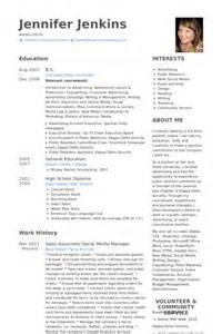 Social Media Manager Resume Samples Visualcv Resume