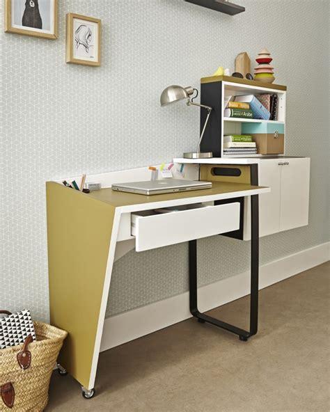 un coin bureau très pratique et qui ne prend pas de place