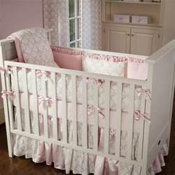 pink and taupe damask crib bedding crib bedding carousel designs