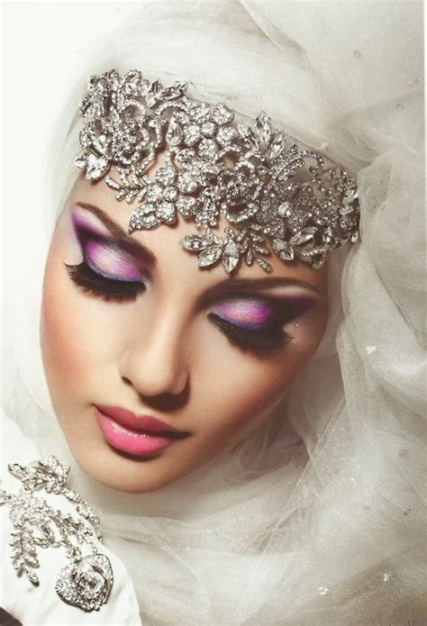 bridal hijabs   trendy bride arabia weddings