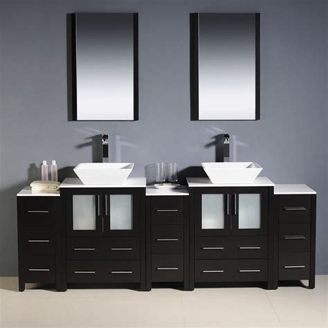 Sink Bathroom Vanity Cabinets by Convenience Boutique Fresca Torino 84 Quot Espresso Modern