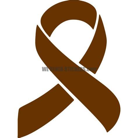 awareness ribbon westuckstickerscom