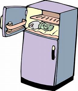 Refrigerator Clip Art Householdkitchenappliances