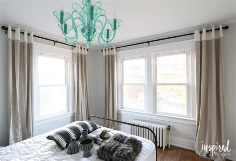window curtain rods curtains bedroom with interalle com