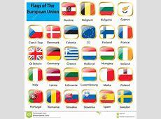European flag set stock vector Image of bulgaria, hungary