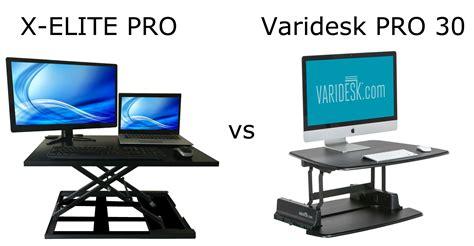 Stand Steady XELITE PRO vs Varidesk Pro Plus 30