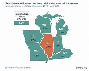 Illinois' jobs growth worse than every neighboring state