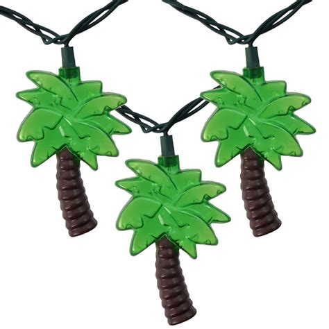 Outdoor Tropical Palm Tree String Lights