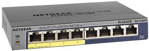 netgear gspe  port    gigabit switch