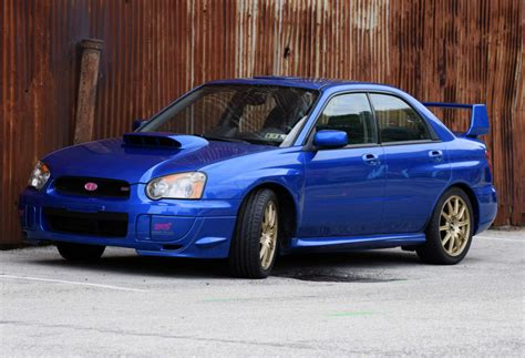 One-owner 2004 Subaru Impreza Wrx Sti For Sale On Bat